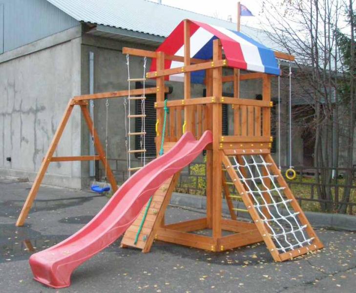 Детские игровые комплексы для дачи своими руками фото 15