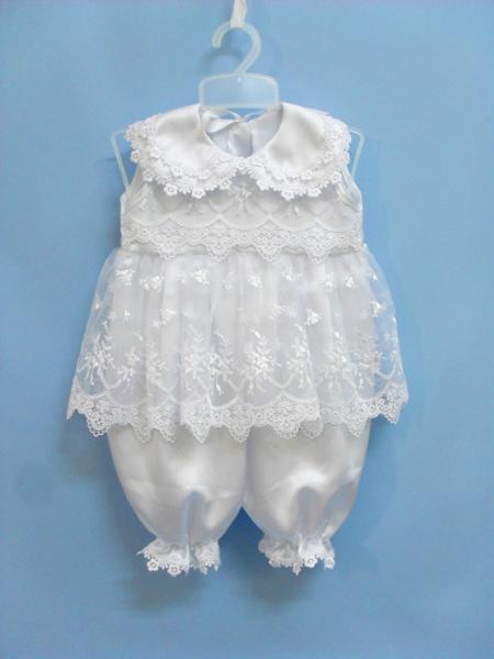 Платье для девочки на выписку своими руками 39