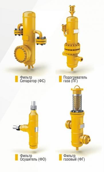 Сепаратор газовый СГ-ПР Ду 100 Ру 100