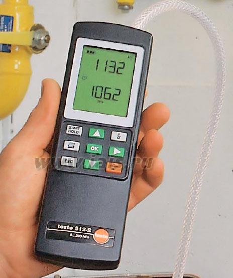 Приборы измерения и регулировки давления, напора, тяги, температуры