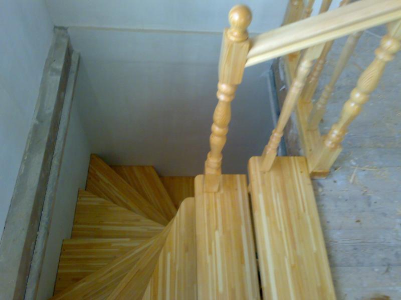 Лестницы полувинтовые своими руками