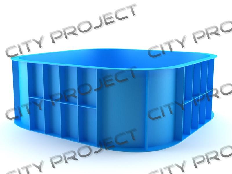 Бассейны для воды пластик