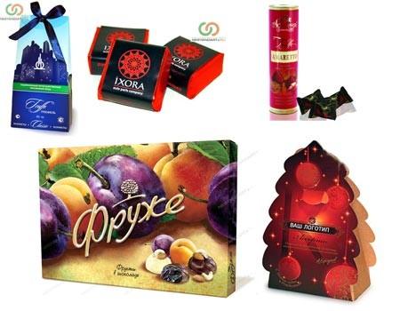 Упаковка конфет на новый год своими руками