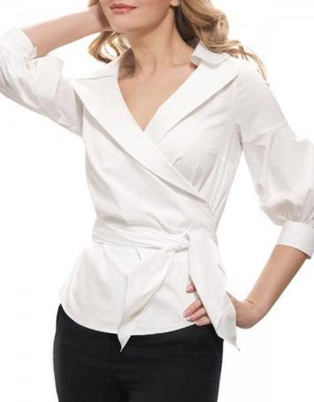 Блузка С Запахом В Спб