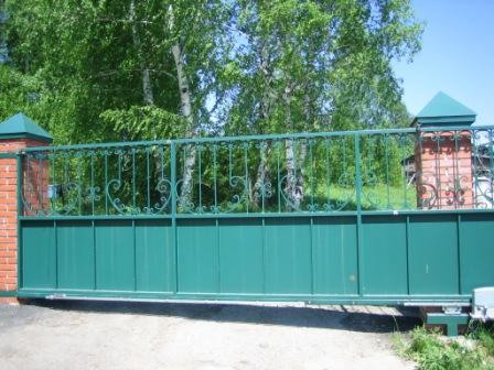Томск раздвижные ворота ганновер ворота
