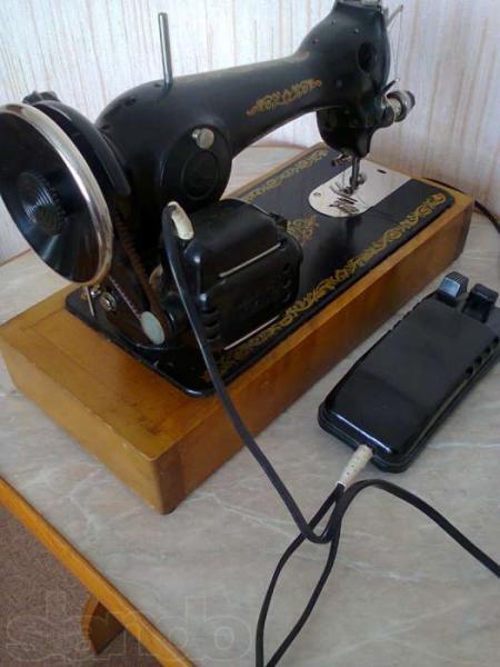 Установка электроприводов на швейные машинки. - купить в Ярославле - Бытсервис