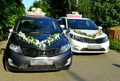 киа рио на свадьбе фото