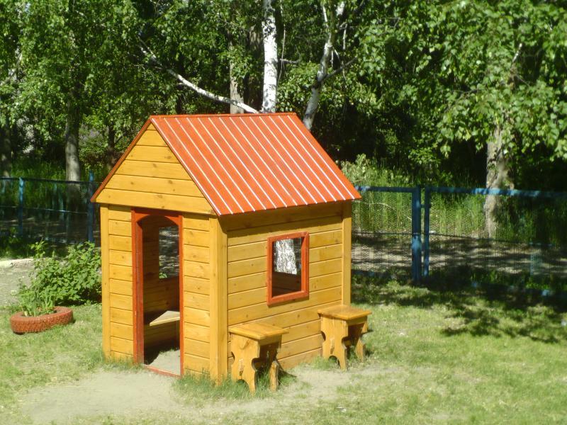 Детский домик своими руками для детского сада 225