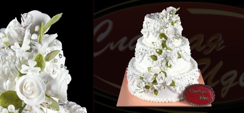 Свадебные торты фото и цены в лобне