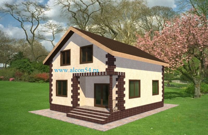 Фото проектов домов до 120 кв.м