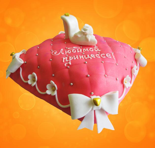 Торт на заказ для принцессы