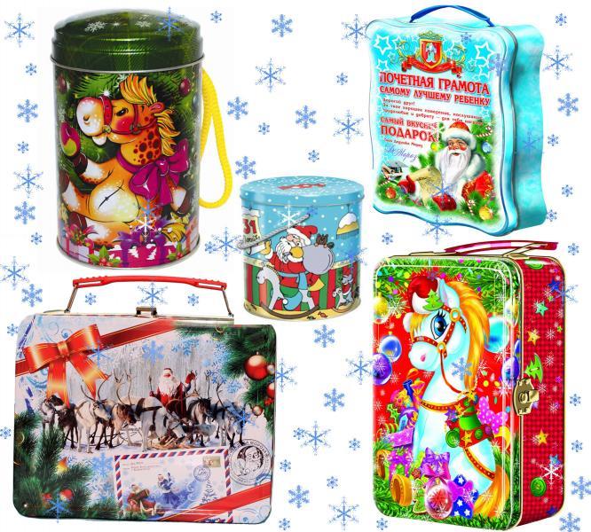 Новогодние конфеты оптом Рошен АВК Конти Подарки детям