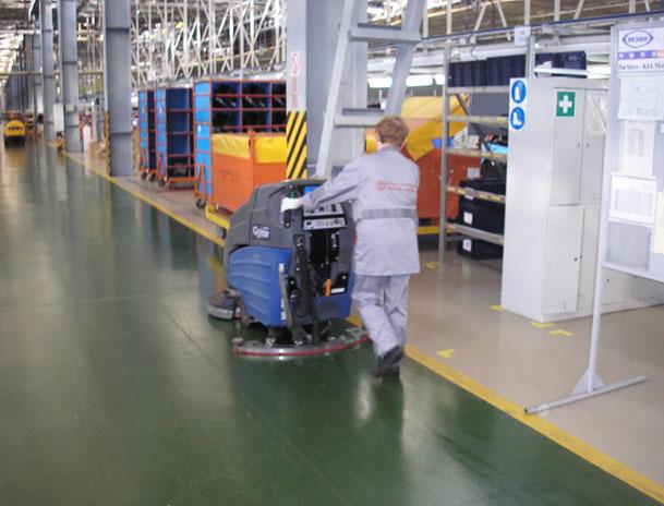 Уборщик помещений производственных служебных