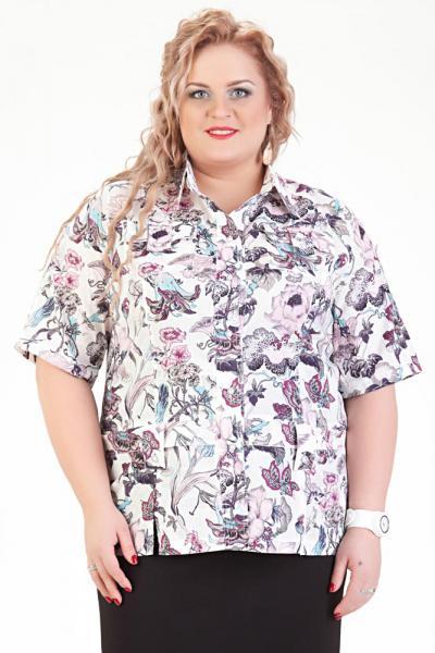 Блузка Рубашечного Типа В Новосибирске