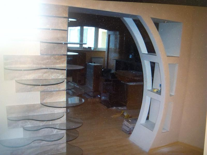 Декоративные арки из гипсокартона фото