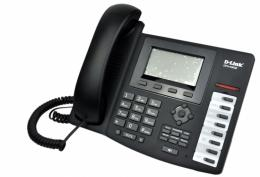 [DPH-400SE/E/F2] D-LINK DPH-400SE/E/F2 VoIP телефон, 2x10/100Mbps, LCD display (SIP v.2), PoE