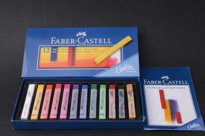 Паста для лепки faber-castell pluffy 571607