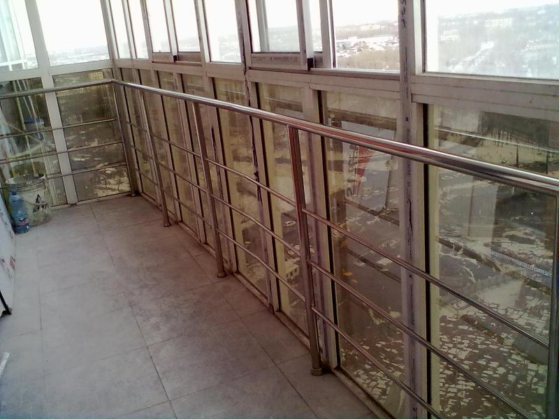 Перила на балкон, хабаровск, ип шимкова inox-dv.