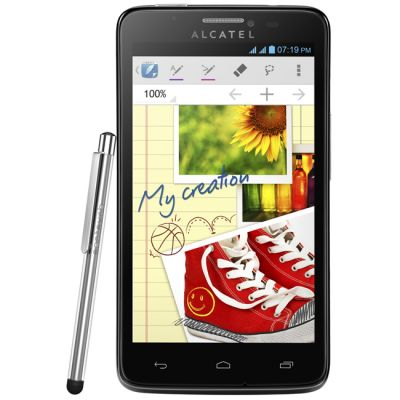 Смартфон, Alcatel One Touch Scribe easy 8000D Black