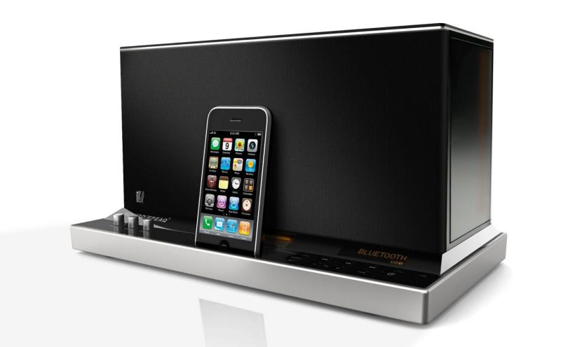 Акустическая система SoundFreaq SFQ-01 Sound Platform для iPhone/iPod/iPad, Black
