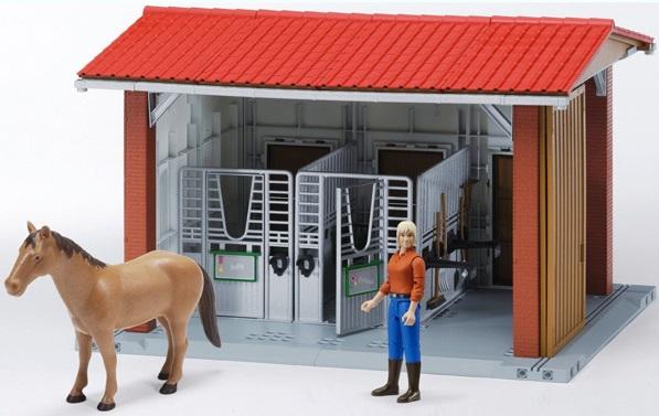Конюшня для лошадей игрушки