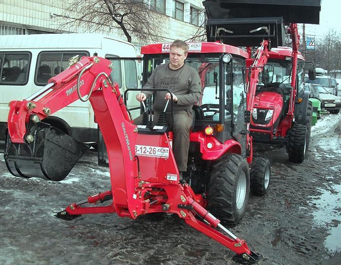 продажа надежных мини тракторов NORVEG