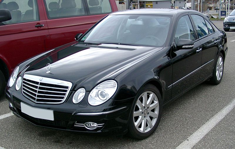 Двигатель б/у на Mercedes-Benz E-class Sedan (W211)