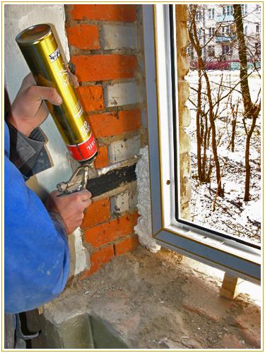 Правильный порядок монтажа пластикового окна postroydo.