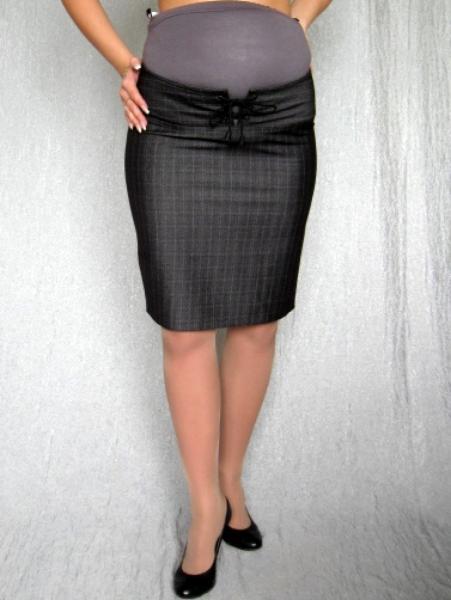 Простая юбка для беременных