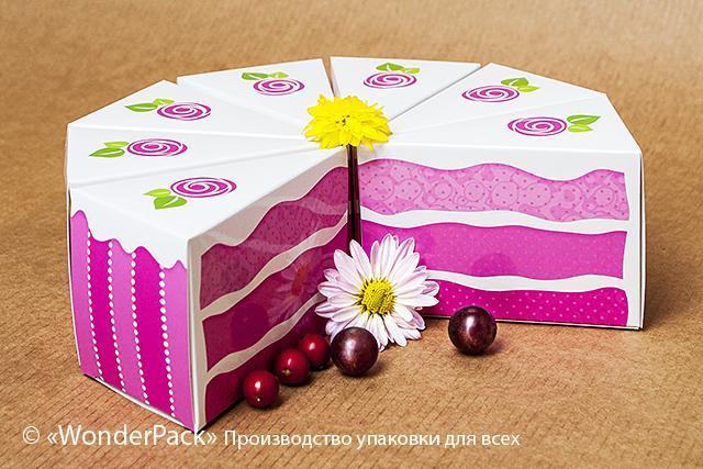 Торт из коробок подарок 24