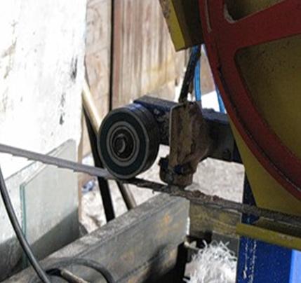 Бензиновая ленточная пилорама своими руками 76
