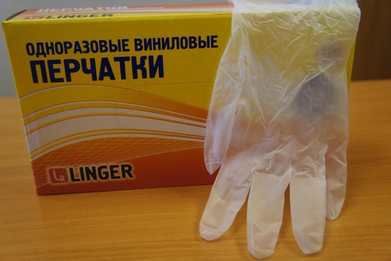Прозрачные Перчатки