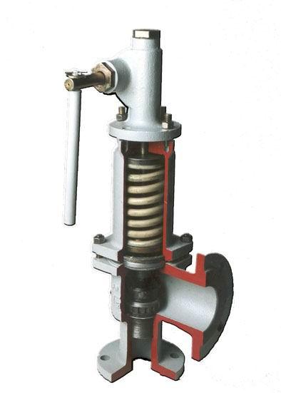 Клапан предохранительный пружинный без ручного подрыва, Руст = 2,5 №7