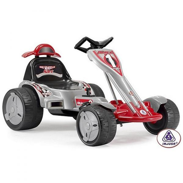 Гоночный карт Injusa Go-Kart BIG WHEELS 12V Injusa