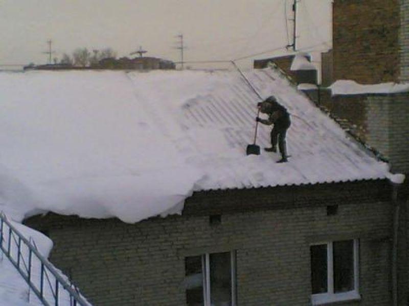 Цены Чистка снега с крыш. удаление сосулек и наледи. очистка.