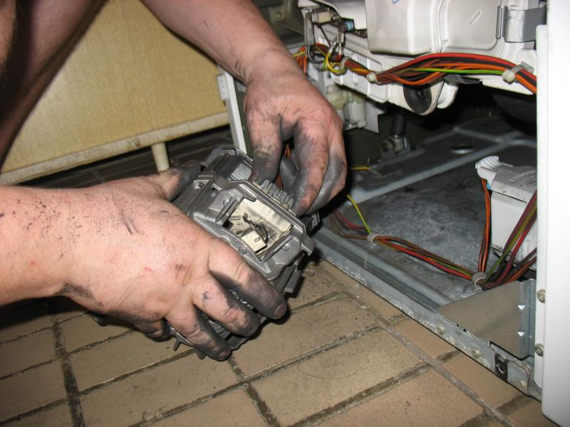 Ремонт стиральной машины своими руками замена