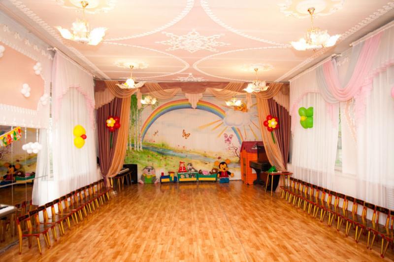 Оформление в музыкального зала в детском саду к выпускному