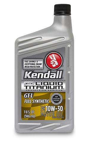 Масло моторное KENDALL GT-1 Full Synthetic 5W-30 075731072329