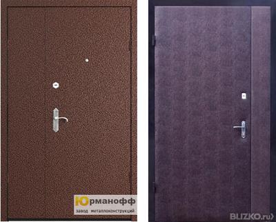 металлические двери с боковиной