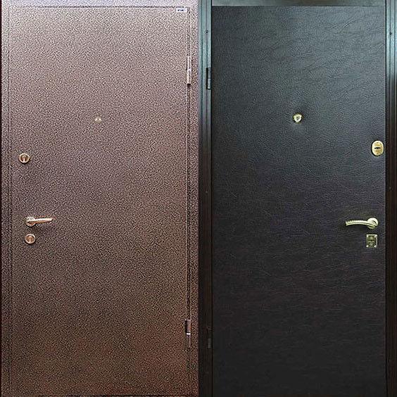 входные металлические двери с порошковой окраской цены