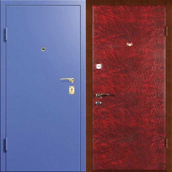 железные с порошковым напыление двери недорого купить в москве