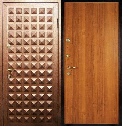 дверь входные с порошковым напылением цена