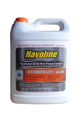 АНТИФРИЗ CHEVRON HAVOLINE PREDILUTED 50/50 DEX-COOL EXTENDED