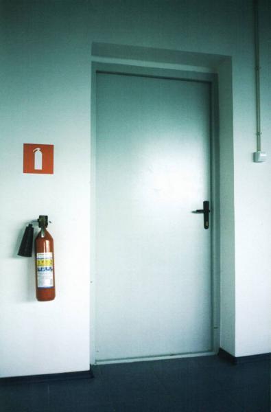 металлическая дверь пожарная безопасность