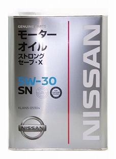 NISSAN 5W30 SN STRONG SAVE X
