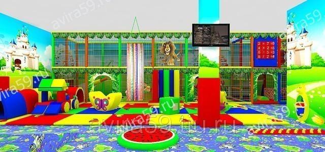 Игровые днтские комнаты в перми