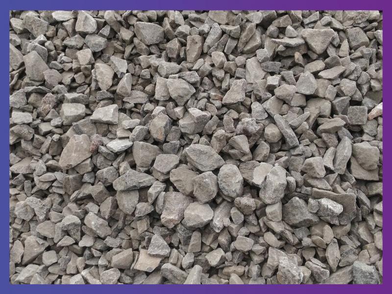 Щебень серый, гранит, фракция 20-40 мм