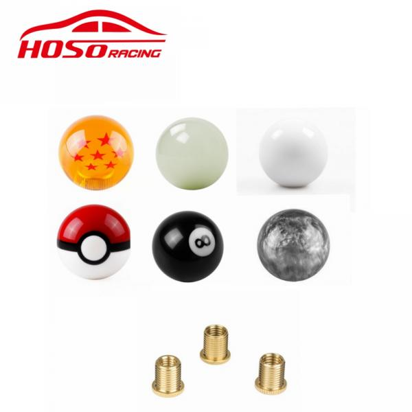 universal car Dragon ball  Gear Shift Knob   Racing Stick  Cool Acrylic Shift Knob
