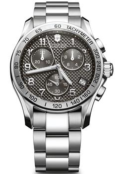 513ef0a4 Швейцарские наручные мужские часы Victorinox Swiss Army 241405. Коллекция  Chrono Classic. Цена