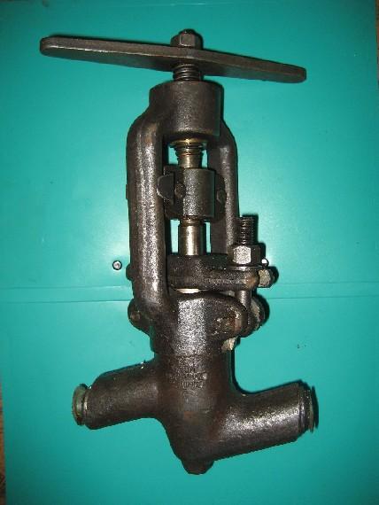 Клапан запорный сальниковый, 2007 г.в., пр-ва ЧЗЭМ